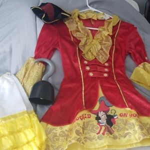 Captain hook costume small